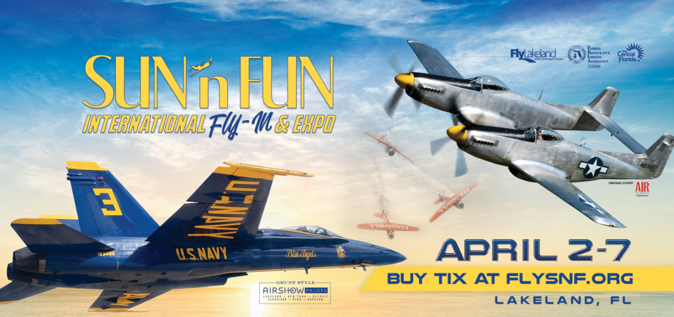 SUN 'n FUN INTERNATIONAL FLY-IN - EXPO ADMISSION